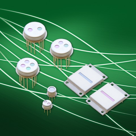 Infrared sensors and arrays PYROSENS