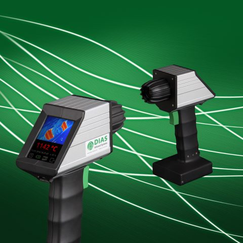 Infrared camera PYROVIEW portable