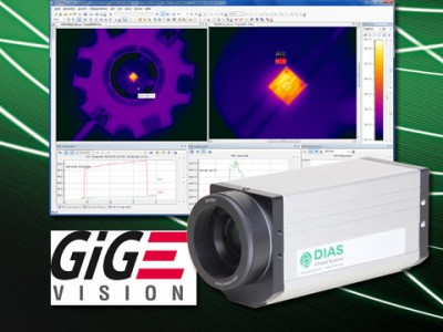 All infrared cameras from DIAS now with GigE® Vision Interface